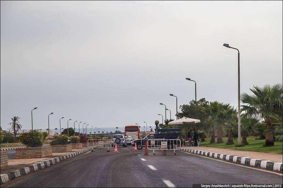 Ситуация с безопасностью на египетских курортах