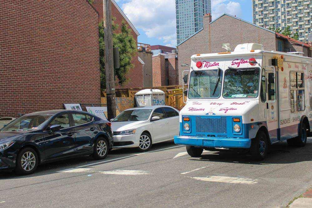 Фургон мороженщика