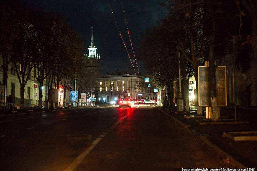 Ситуация с электричеством в Севастополе