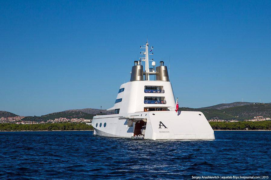 Яхта, которая переплюнула яхту Абрамовича