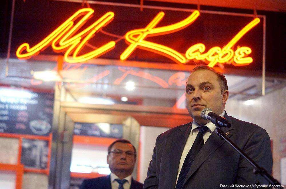 Первая встоличном метрополитене кофейня «МКафе» открылась настанции «Выставочная»