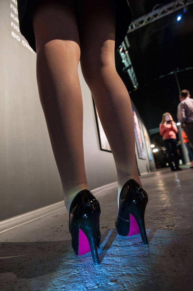 проститутка на каблуках