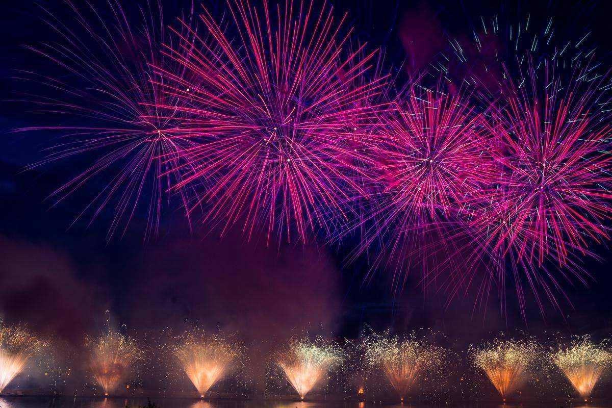 Второй всероссийский фестиваль фейерверков