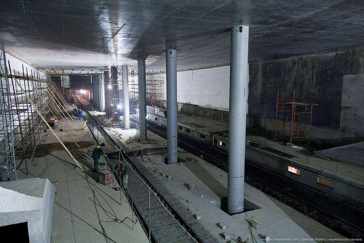История станции метро Мякинино