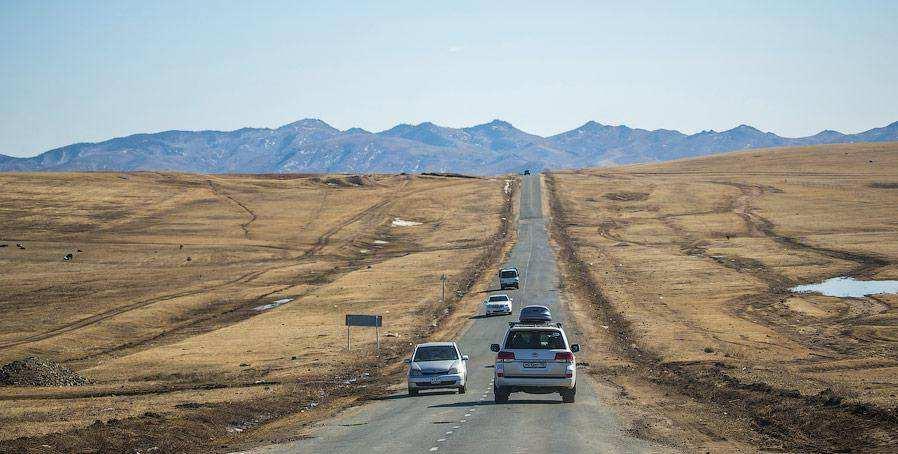 О монгольских дорогах