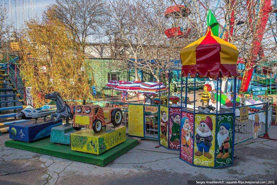 Парк аттракционов в Севастополе