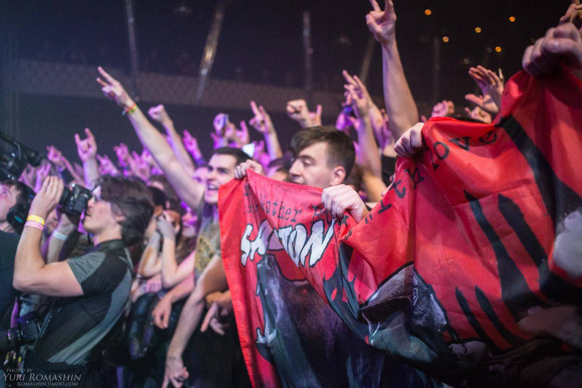Sabaton отчеканили свой марш в Москве