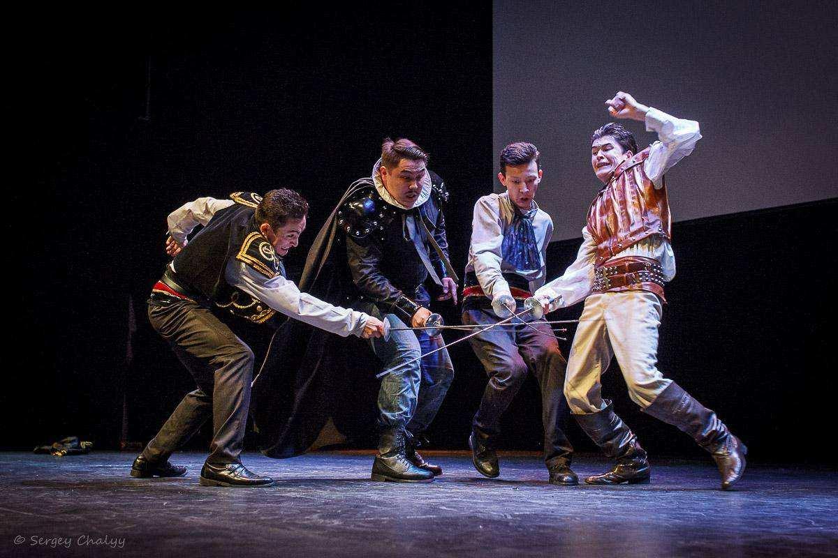 Международный фестиваль сценического фехтования  «Серебряная шпага»