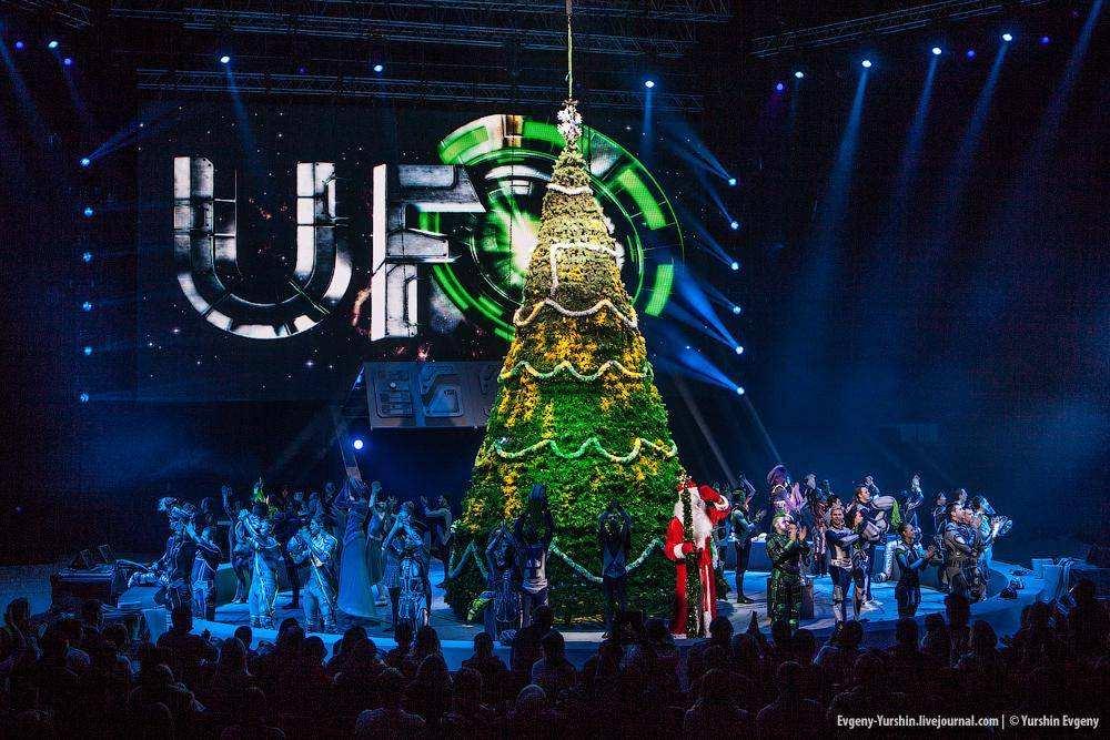 Новогоднее цирковое шоу «UFO. ЦИРК С ДРУГОЙ ПЛАНЕТЫ»