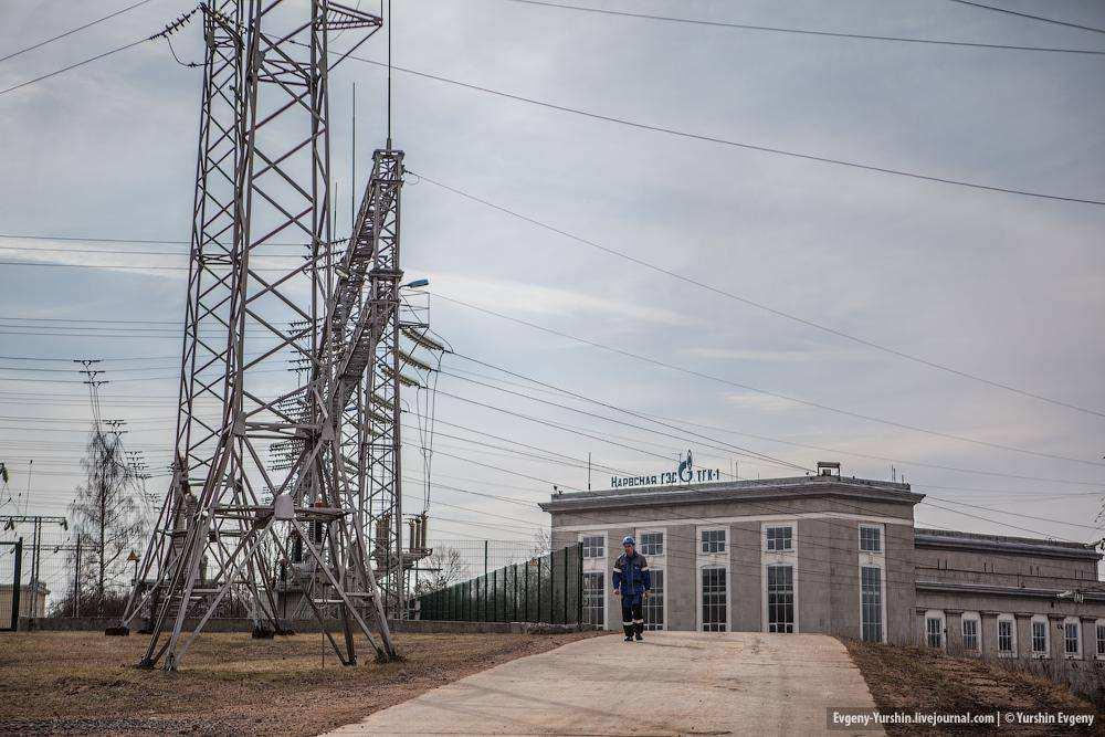 Учения ТГК-1 и МЧС на Нарвской ГЭС