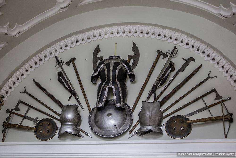 В Царском Селе отреставрирован павильон Арсенал
