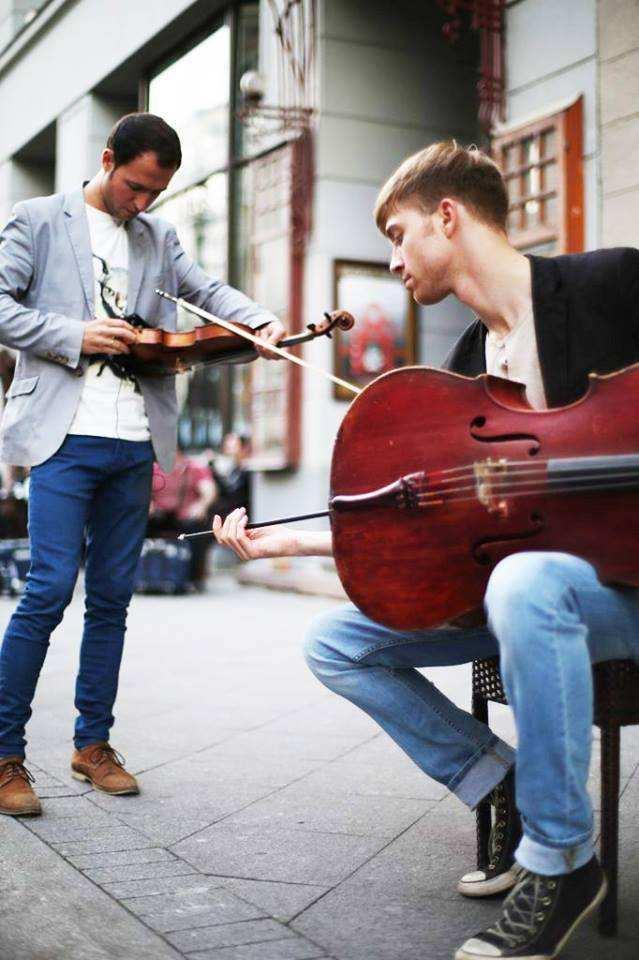 Игра на виолончели - нарушение общественного порядка