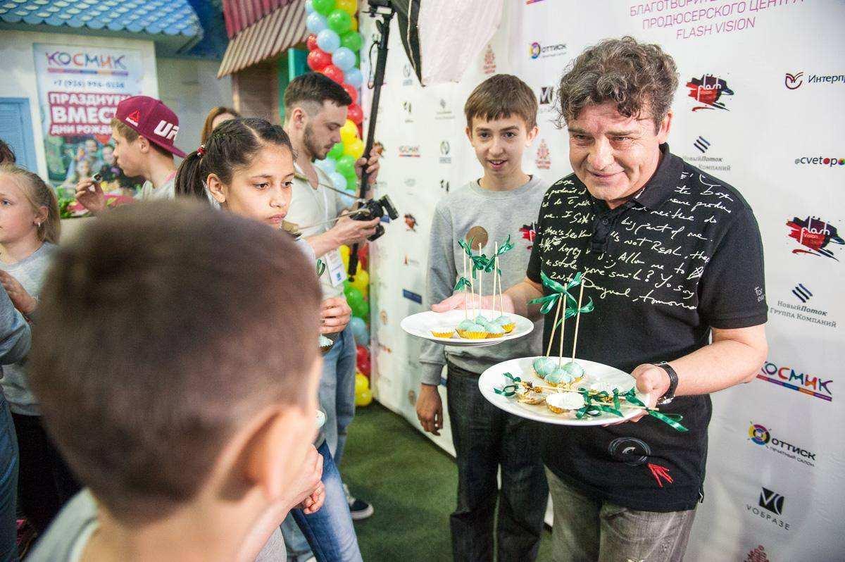 Благотворительный проект Flash Kids 2017