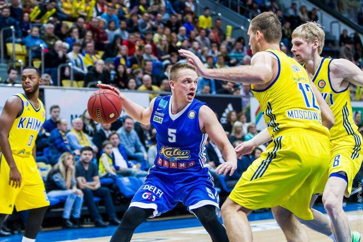 Баскетболисты «Калева» обыграли «Парму» ипрервали серию поражений вЕдиной лиге ВТБ