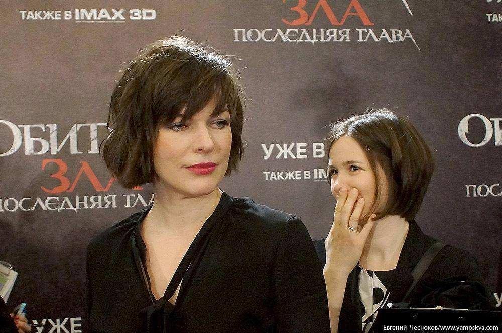 Милла Йовович приехала в столицу Российской Федерации для презентации «Обители зла» ипоесть пельмени