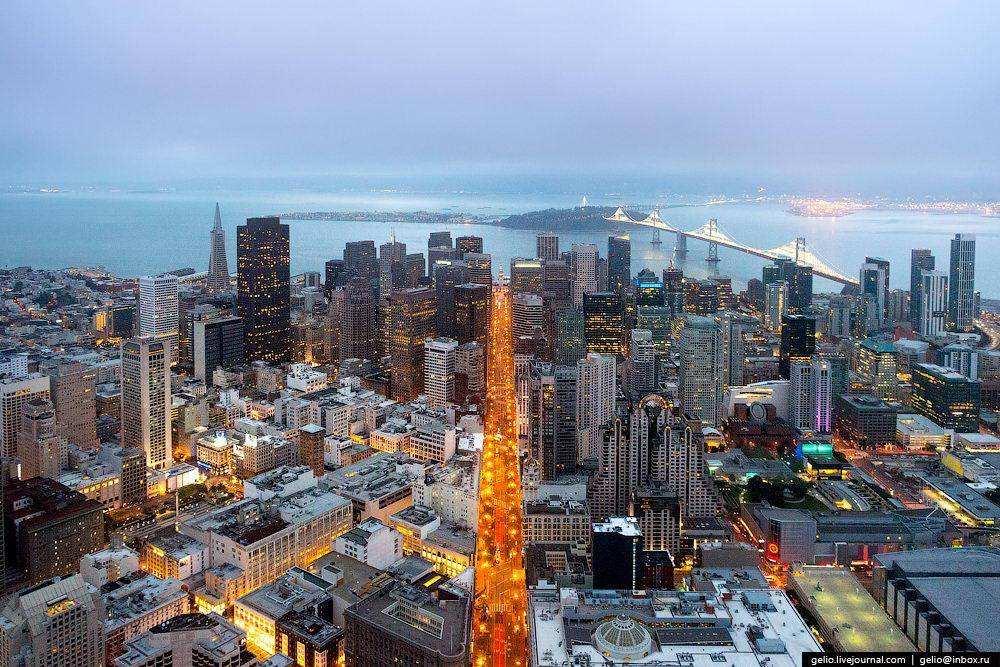 Сан-Франциско с высоты