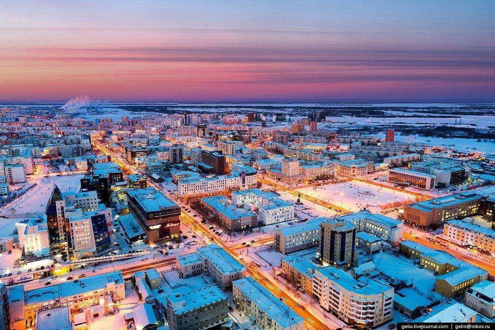 Якутск с высоты