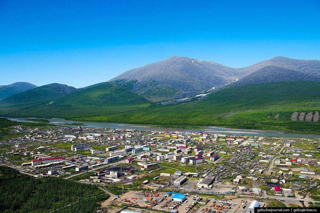 Усть-Нера. Якутия