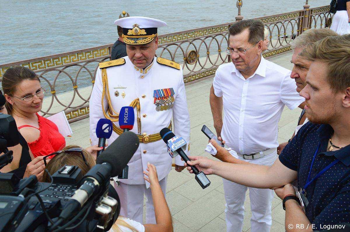 День ВМФ в Астрахани