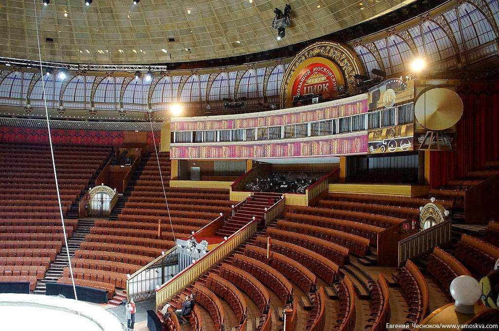Цирк на проспекте вернадского фото внутри