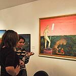Открытие выставки Гребенщикова