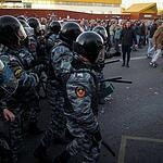 Беспорядки в бирюлево (фото)