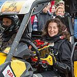 Инна Мартьянова и Виктор Шмельков на открытии этапа