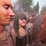 Фестиваль красок ColorFest прошел на ВДНХ