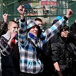 «День русского гнева» разогнала полиция