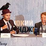 Джонни Депп приехал Москву с «Одиноким Рейнджером»