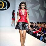 Модельер Элеонора Амосова представила на Московской Неделе Моды свою новую коллекцию Glamrock