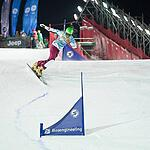 Этап Кубка мира по сноуборду в Москве