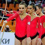 В Москве проходит Гран-при по художественной гимнастике