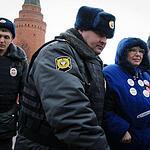 Участники «протестных гуляний» на Красной площади снова задержаны