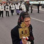 Коммунисты вспомнили жертв октября митингом и шествием