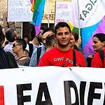 Лица с нетрадиционной сексуальной ориентацией прошлись по улицам Вероны