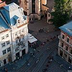 Львов с городской ратуши