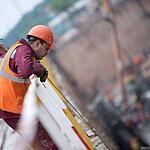 Завершение проходки тоннеля и строительство станции Тропарёво
