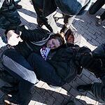 Митинг в защиту прав женщин закончился задержаниями