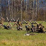 Военно-историческая реконструкция «Москва за нами»