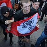 На Триумфальной площади задержаны протествующие