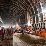 Строительство станции «Петровско-Разумовская»