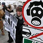 Москвичи протестуют против дублера Кутузовского проспекта