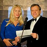 Екатерина Одинцова и Борис Грачевский. Resto Rate Awards 2012