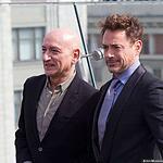 Роберт Дауни-младший и Бен Кингсли привезли в Москву Железного человека -3
