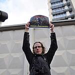 Пикет в поддержку фотографа Дениса Синякова