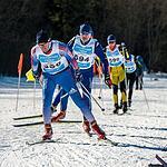 «Уступи лыжню доктору» в Обнинске