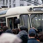Парад ретротроллейбусов в Москве