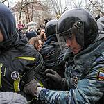230 человек задержаны у Замоскворецкого суда