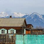 Бурятская деревня